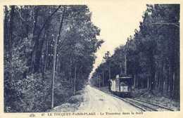 LE TOUQUET PARIS PLAGE  Le Tramway Dans La Foret RV - Le Touquet