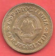 50 Dinara , YOUGOSLAVIE , Cupro-Zinc , 1965 , N° KM # 46.1 - Yougoslavie