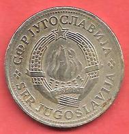 2 Dinara , YOUGOSLAVIE , Cupro-Nickel-Zinc , 1978 , N° KM # 57 - Yougoslavie