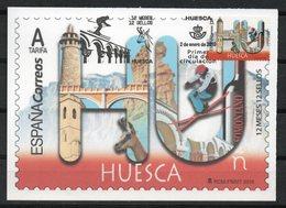 España. 2019. Huesca 12 Meses 12 Sellos. Reproducción Del Sello - Cartoline Maximum
