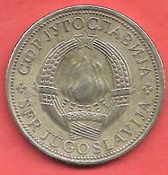 5 Dinara , YOUGOSLAVIE , Cupro-Nickel-Zinc , 1972 , N° KM # 58 - Yougoslavie