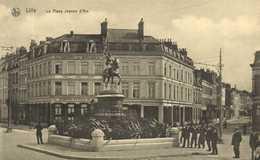 LILLE La Place Jeanne D'Arc     RV - Lille