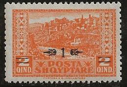 Albanie 1924 N°Y.T. :  135 ** - Albania