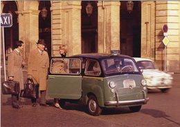 Fiat 600 Multipla  TAXI     -   CPM - Taxis & Droschken