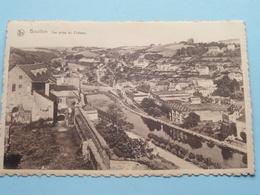 Vue Prise Du Château ( O. Bourland Tabacs ) Anno 19?? ( Zie Foto Voor Details ) ! - Bouillon