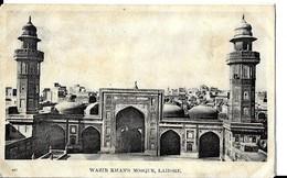 Pakistan     WAZIR KHAN POSQUE   , LAHORE , ( état ) - Pakistan
