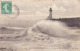 Charente Maritime        745       La Pallice.Rochelle.La Jetée Un Jour De Tempête - Autres Communes