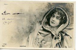 768. BELLE CPA REUTLINGER ARTISTE DEBUT 20è SIECLE. RABUTEAU 1903 - Entertainers