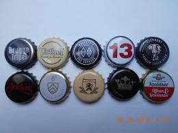 Lot De 10 Capsules De Biere Différentes - Bière