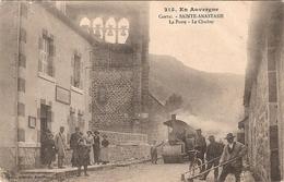 SAINTE-ANASTASIE: La Poste - Le Clocher ( N° 215 Vigier) - France