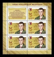 Russia 2018 Mih. 2610 Heroes Of Russia. Oleg Dolgov (M/S) MNH ** - Nuevos