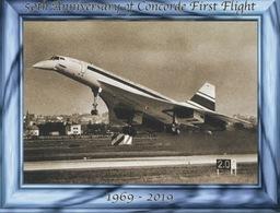 50th Anniversary Of First Concorde Aircraft Flight / 50eme Anniversaire Du Premier Vol Du Concorde - 1946-....: Ere Moderne
