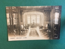 Cartoline Lausanne - Hotel Cecil - Le Hall- 1930 Ca. - Postkaarten