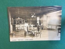 Cartoline Lausanne - Hotel Cecil - Le Bar Et Billard - 1930 Ca. - Cartes Postales