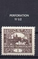 CZECHOSLOVAKIA    1918 , MNH , HRADCANY - Czechoslovakia
