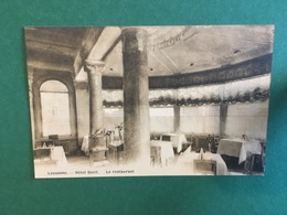 Cartoline Lausanne - Hotel Cecil - Le Resturant - 1930 Ca. - Cartes Postales