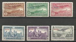 Spain - 1931 Officials MNH ** - Peru