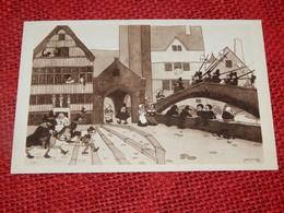 HUMOR - HUMOUR - Chigago World's Fair 1933 - Picturesque Belgium  -  JEAN DRATZ Illustrateur - Humor