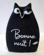 Fève Mate -  Jolie Chouette Bonne Nuit ! - Animaux