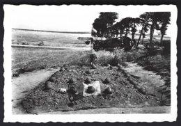 Guerre 1940-1945,Belgique-France ? Tombes De Soldats Français ,photo Véritable - War, Military