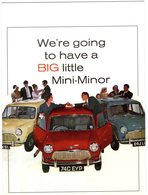 BIG Little Mini-Minor   -  Publicite D'epoque  -  Advertising Postcard  -  CPM - Voitures De Tourisme