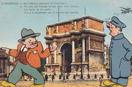 13 / 4 CARTES / GALEJADES MARSEILLAISES / 15.18.19.22 - Marseille