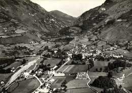 CPSM Grand Format EN AVION AU DESSUS DE ... BEDOUS  (B.P.) 415m Vallée D'Aspe RV - Francia