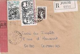 TP N° 2139 Et PA 55 Sur Enveloppe De Periers - 1961-....