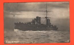 Nave San Giorgio Incrociatore Corazzato Navi Regia Marina Navires Ships Schiffe 1915 - Guerra