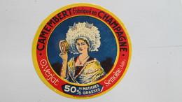 Etiquette Ancienne ( Jamais Collée) - Cheese