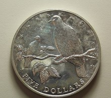 Cook Islands 5 Dollars 1979 Silver - Cookinseln