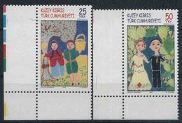 2005 Cipro Del Nord, Disegni Dei Bambini, Serie Completa Nuova (**) - Nuovi