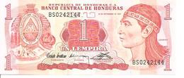 Honduras P-71 1Lempira 1992 UNC - Honduras