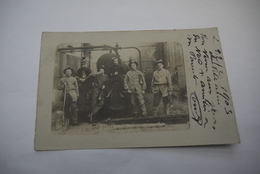 BRUAY    CARTE  PHOTO   GREVE  1902 - France