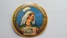 Etiquette Ancienne ( Jamais Collée) Petit Modèle - Cheese