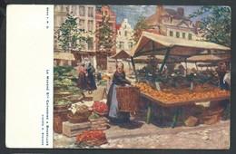 +++ CPA - BRUSSEL - Le Marché Ste Catherine à BRUXELLES - A.Stevens   // - Markten