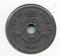 LEOPOLD II  * 5 Cent 1904 Frans * Nr 5190 - 1865-1909: Leopold II
