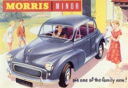 Morris Minor    -  1955  -   Vintage Advertising Postcard  -  Publicite D'epoque  -  CPM - Turismo