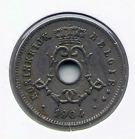 LEOPOLD II  * 5 Cent 1904 Vlaams * Prachtig / FDC * Nr 5192 - 03. 5 Centimes