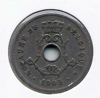 LEOPOLD II  * 5 Cent 1905 Frans * Nr 5193 - 1865-1909: Leopold II