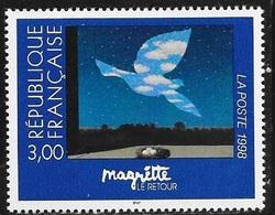 TIMBRE N° 3145   -   TABLEAU DE MAGRITTE     - NEUF - 1998 - Francia