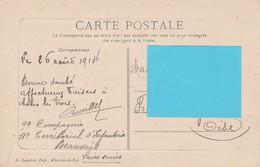 62120 AIRE SUR LA LYS - ANCIENNE PORTE En 1914 - Aire Sur La Lys