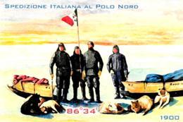 [MD2784] CPM - SPEDIZIONE ITALIANA AL POLO NORD - EDIZIONI APAC - 2010 - Non Viaggiata - Histoire
