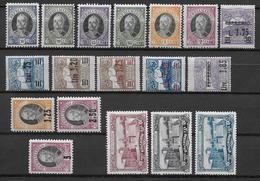 SAINT MARIN - ANNEES COMPLETES 1926 à 1927 * MLH - COTE = 146 EUROS - Saint-Marin