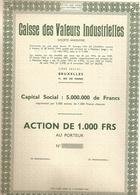Caisse De Valeurs Industrielles - Industrie