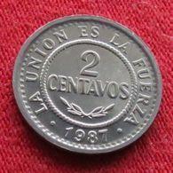 Bolivia 2 Centavos 1987  Bolivie UNCºº - Bolivia