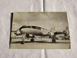 ANTIQUE POSTCARD KLM LOCKHEED SUPER CONSTELLATION AIRPLANE UNUSED - 1946-....: Ere Moderne