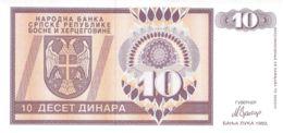 10 Deset Dinare Bosnien-Herzegowina 1992 - Bosnien-Herzegowina