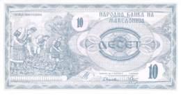 10 Denars Mazedonien 1992 - Mazedonien