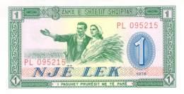 1 Lek Albanieb 1980 - Albanie